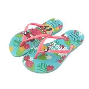 Havaianas Slim Minnie Mouse Flip Flops 6/7 Years